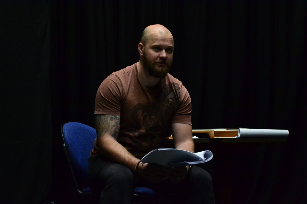 Alex Devine stars as Thomas Allan in Moth Sanctuary Productions new show Usher: The Unbroken Line, in association with Everyman Theatre Cheltenham.